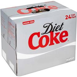 Coca Cola Diet Coke Soft Drink Can 330ml Ref 0402004 Pack 24