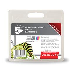 5 Star Office Remanufactured Inkjet Cartridge Page Life 308pp Colour [Canon CL-41 Alternative]