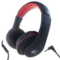 Black HP531 Mobile Headphones with Built-in Mic and Remote Ref 24-1531