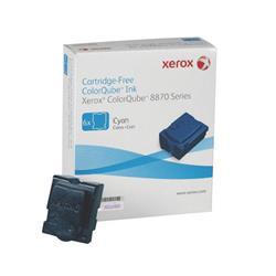 Xerox Colorqube 8870 Ink Stick Cyan Pk 6 108R00955 Ref 108R00954