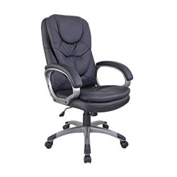 Arista Murcia Leather Look Executive Chair Black KF97092