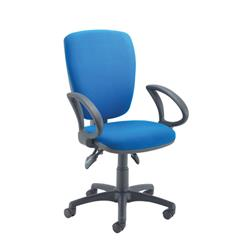 Arista High Back Operator Chair Blue KF97065
