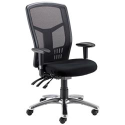 Avior Logan High Back Mesh Operator Chair Black KF97089