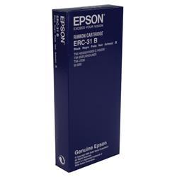 Epson ERC31 Fabric Ribbon Black Ref C43S015369
