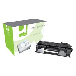Q-Connect HP Laser Toner Cartridge Black Ref CE505A