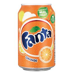 Fanta Orange Soft Drink 330ml Can (Pk 24) 0402006