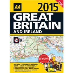 AA Road Atlas Great Britain/Ireland 2013 Ref 9780749573560