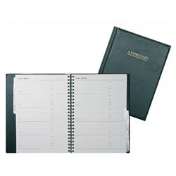 Collins Wiro Address Book 120x148mm Black Ref BA5