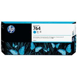 Hewlett Packard HP No.764 Inkjet Cartridge Capacity 300ml Cyan Ref C1Q13A