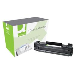 Q-Connect HP Laser Toner Cartridge Black Ref CE285A