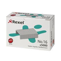 Rexel 16 Staples 6mm Ref 06010 - Pack 5000