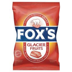 Fox's Glacier Fruits Wrapped Boiled Sweets in Bag 200g Ref 0401064