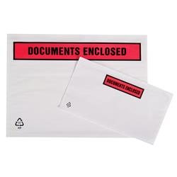 Packing List Envelopes Polythene A5 Document Enclosed 225x165mm (Pack 1000)