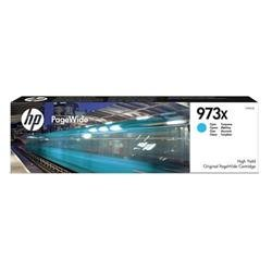 HP 973X (Yield 7,000 Pages) High Yield Original Cyan PageWide Cartridge