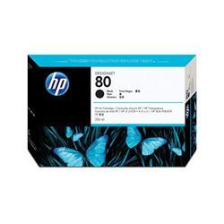 Hewlett Packard HP No. 80 Black 350ml Inkjet Cartridge Ref C4871AE