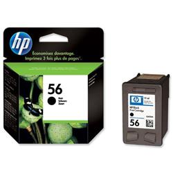 Hewlett Packard HP No. 56 Black Inkjet Print Cartridge 19ml Ref C6656AE