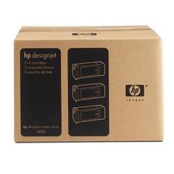 HP Ink Cartridge No. 90 Black 775 ml Ref C5095A (Pack 3)