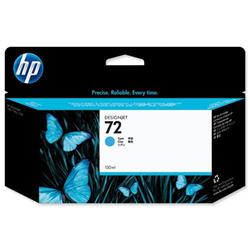 Hewlett Packard HP No. 72 Cyan Inkjet Cartridge With Vivera Ink 130ml Ref C9371A