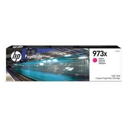 HP 973X (Yield 7,000 Pages) High Yield Original Magenta PageWide Cartridge