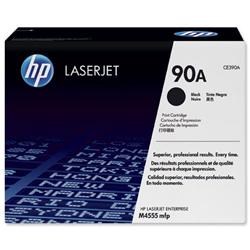 Hewlett Packard (HP) No. 90A Laser Toner Cartridge Page Life 10000 Black Ref CE390A