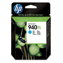 Hewlett Packard HP 940XL Cyan Officejet Ink Cartridge Ref C4907AE