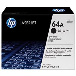 Hewlett Packard HP 64a CC364A Black Laser Toner Cartridge for P4014/P4015/P4515 Series Ref CC364A