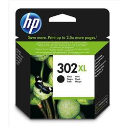 HP 302XL High Yield Black Original Ink Cartridge (F6U68AE) - Up to £13 Cashback