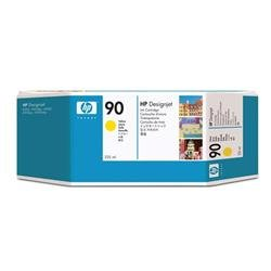 HP Inkjet Dye Cartridge No. 90 Yellow 225 ml Ref C5064A