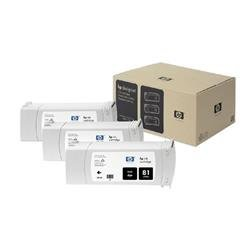 HP Inkjet Dye Cartridge No. 81 Black 680 ml Ref C5066A (Pack 3)