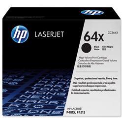 Hewlett Packard HP No. 64X Laser Toner Cartridge High Yield Page Life 24000pp Black Ref CC364X