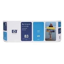 HP Inkjet Cartridge No. 83 UV Cyan 680 ml Ref C4941A