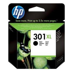 Hewlett Packard (HP) No. 301XL Inkjet Cartridge Page Life 480pp Black Ref CH563EE #UUS