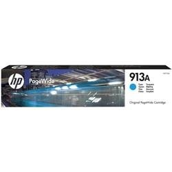 HP 913A Cyan Original PageWide Cartridge (F6T77AE) - Up to £49 Cashback