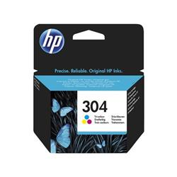 HP 304 (Yield 100 Pages) Tri-color Original Ink Cartridge