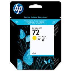 HP 72 Yellow Inkjet Cartridge Ref C9400A
