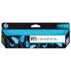 Hewlett Packard HP 971 Officejet Inkjet Cartridge Page Life 2500pp Yellow Ref CN624AE