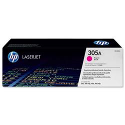 HP No. 305A Laser Toner Cartridge Page Life 2600pp Magenta Ref CE413A