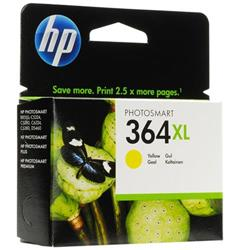 Hewlett Packard (HP) No. 364XL Inkjet Cartridge Page Life 750pp Yellow Ref CB325EE #ABB