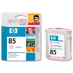 HP 85 Light Magenta Dye Inkjet Cartridge 28ml for DesignJet 30/90/130 Ref C9429A