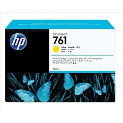 HP 761 Yellow Ink Cartridges 400ml (Pack of 3) for HP Designjet T7100 Printer