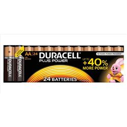 Duracell Plus Power Battery Alkaline 1.5V AA Ref 81275383 Pack 24