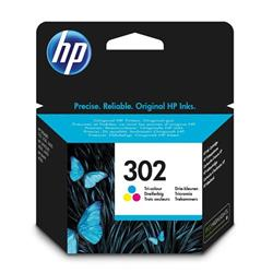 HP 302 Ink Cartridge Tri Colour Ref F6U65AE