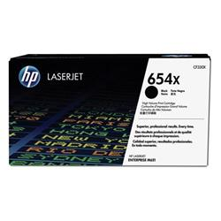 HP 654X LaserJet Enterprise M651 High Yield Black Toner Cartridge 20.5k Ref CF330X