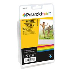 Polaroid Epson 79XL Remanufactured Inkjet Cartridge Cyan T790240-COMP PL