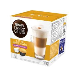 Nescafe Skinny Latte Capsules for Dolce Gusto Machine Ref 12051231 Pack 48 (3x16 Capsules=24 Drinks)