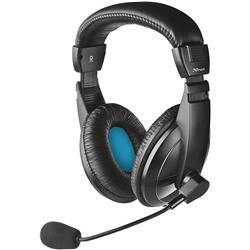 Cuffie con filo Trust Over-Ear - Jack 3,5 mm - microfono - controllo volume - nero