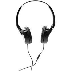 Cuffie con filo Sony MDR-ZX11AP - Jack 3,5 mm - microfono - controllo volume - pieghevoli - nero