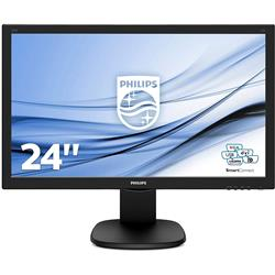 "Monitor Desktop Philips 243S5LJMB - Full HD - Led - 24"" - 16:9 - VGA-HDMI-USB"