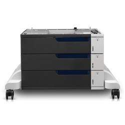HP LaserJet Color 3x500-sheet Paper Feeder and Stand