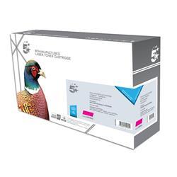 5 Star Office Remanufactured Laser Toner Cartridge 6000pp Magenta [HP No. 507A CE403A Alternative]